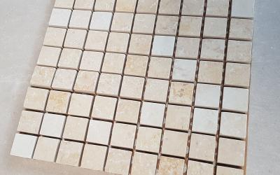 Mosaico in marmo beige outlet Vicenza