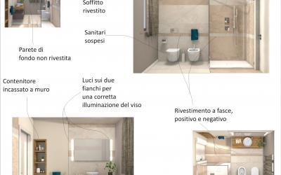 Progetto di bagno moderno fratelli pellizzari - Progetto bagno 3d gratis ...