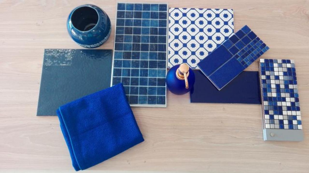 Bagno Con Mattonelle Blu.Piastrelle E Arredamento Per Gli Amanti Del Blu Fratelli