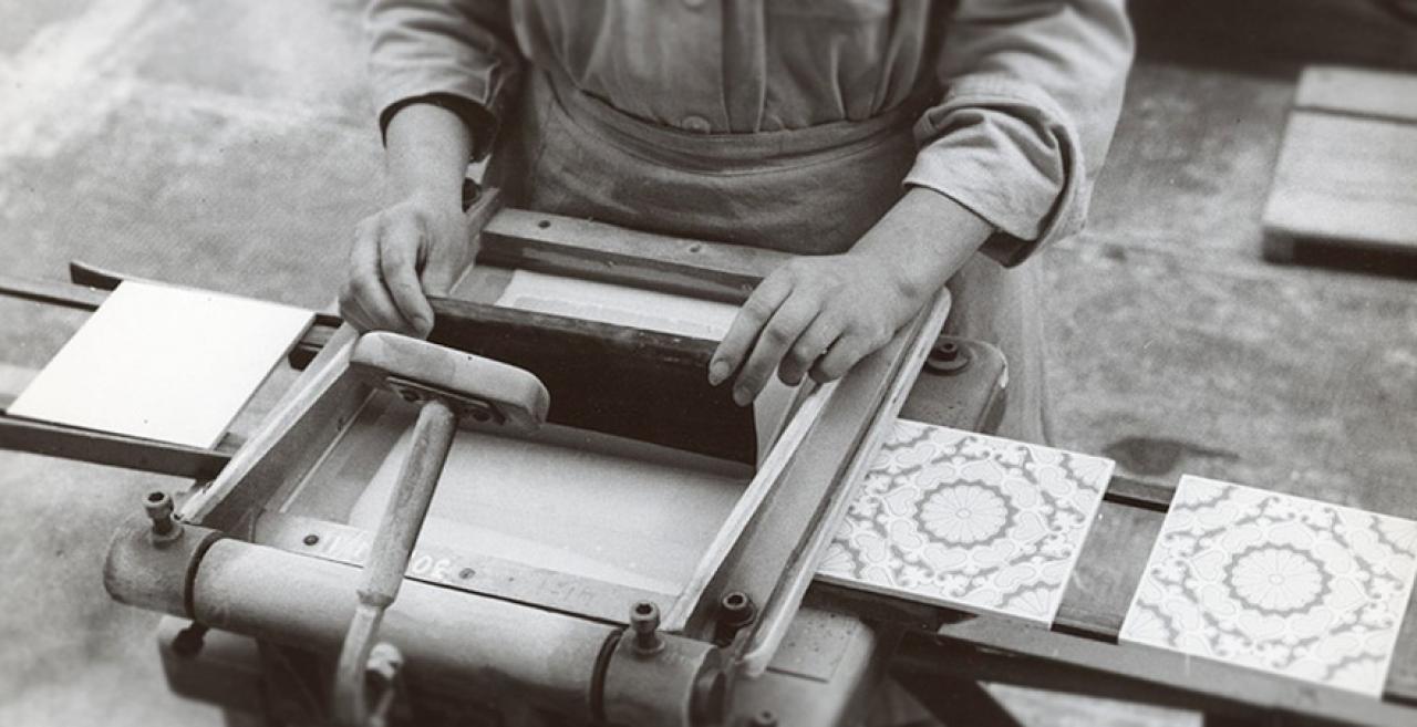 Piastrella ceramica storia dalle origini al fratelli