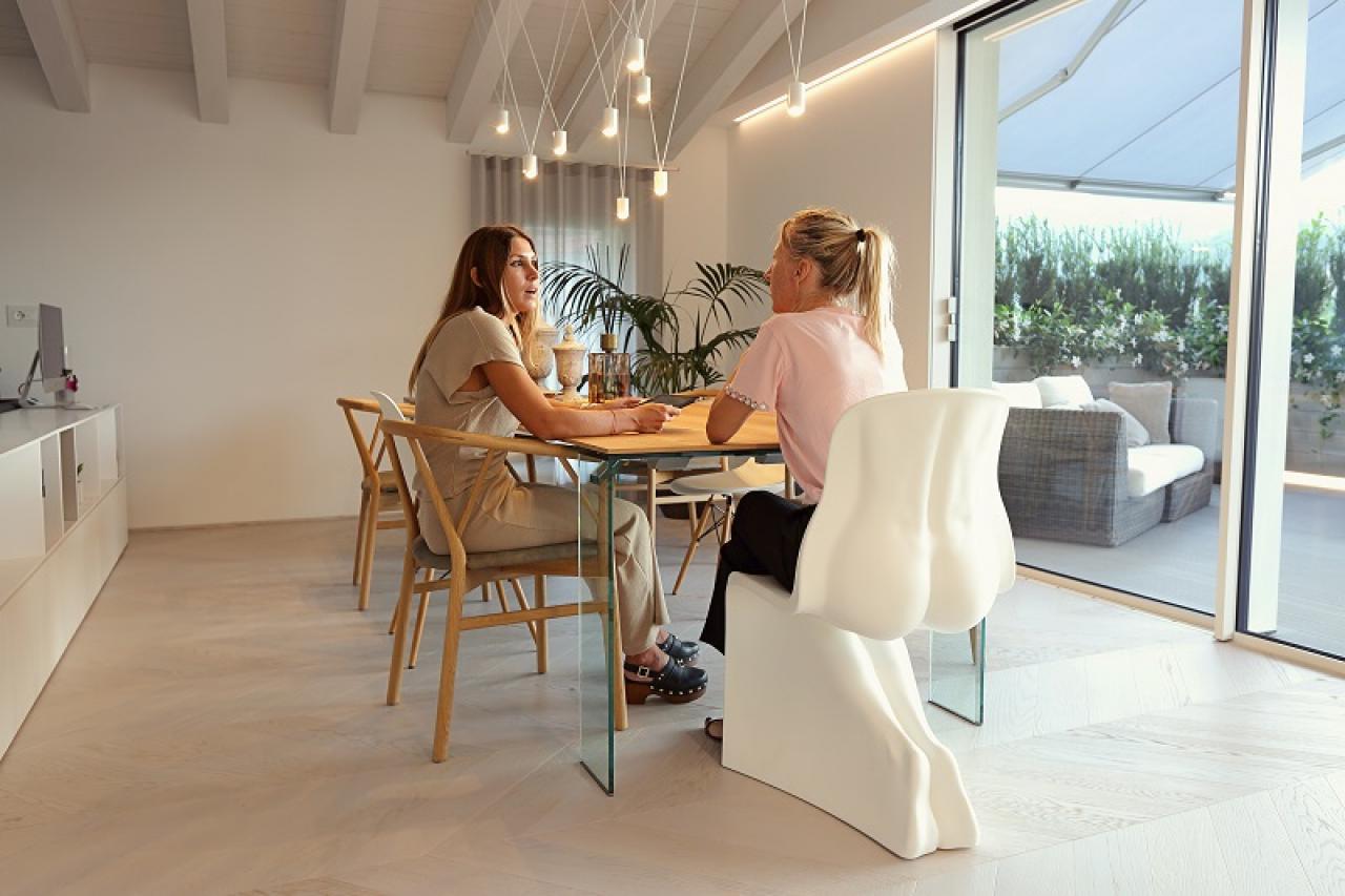 Arredamenti Moderni Immagini attico ad arzignano: design sofisticato | fratelli pellizzari