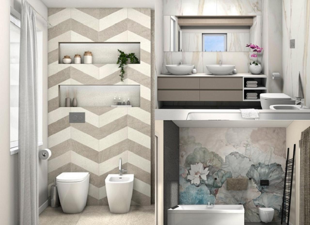 Piastrelle bagno moderno