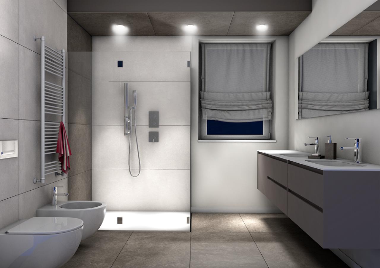 Bagni moderni piastrelle interno di casa smepool