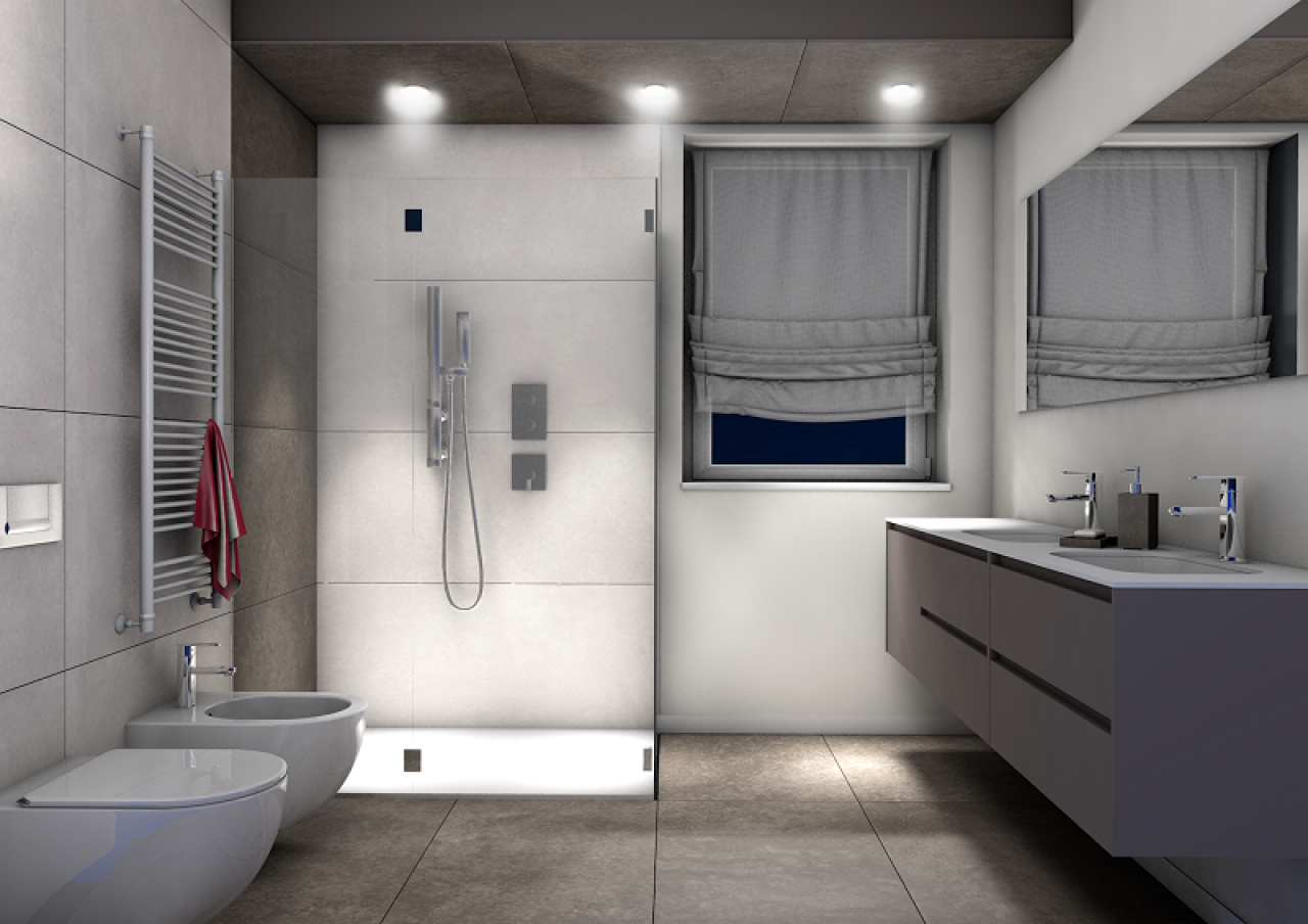 Bagno maschile 5 idee per un bagno con stile fratelli pellizzari - Bagni piastrelle moderne ...