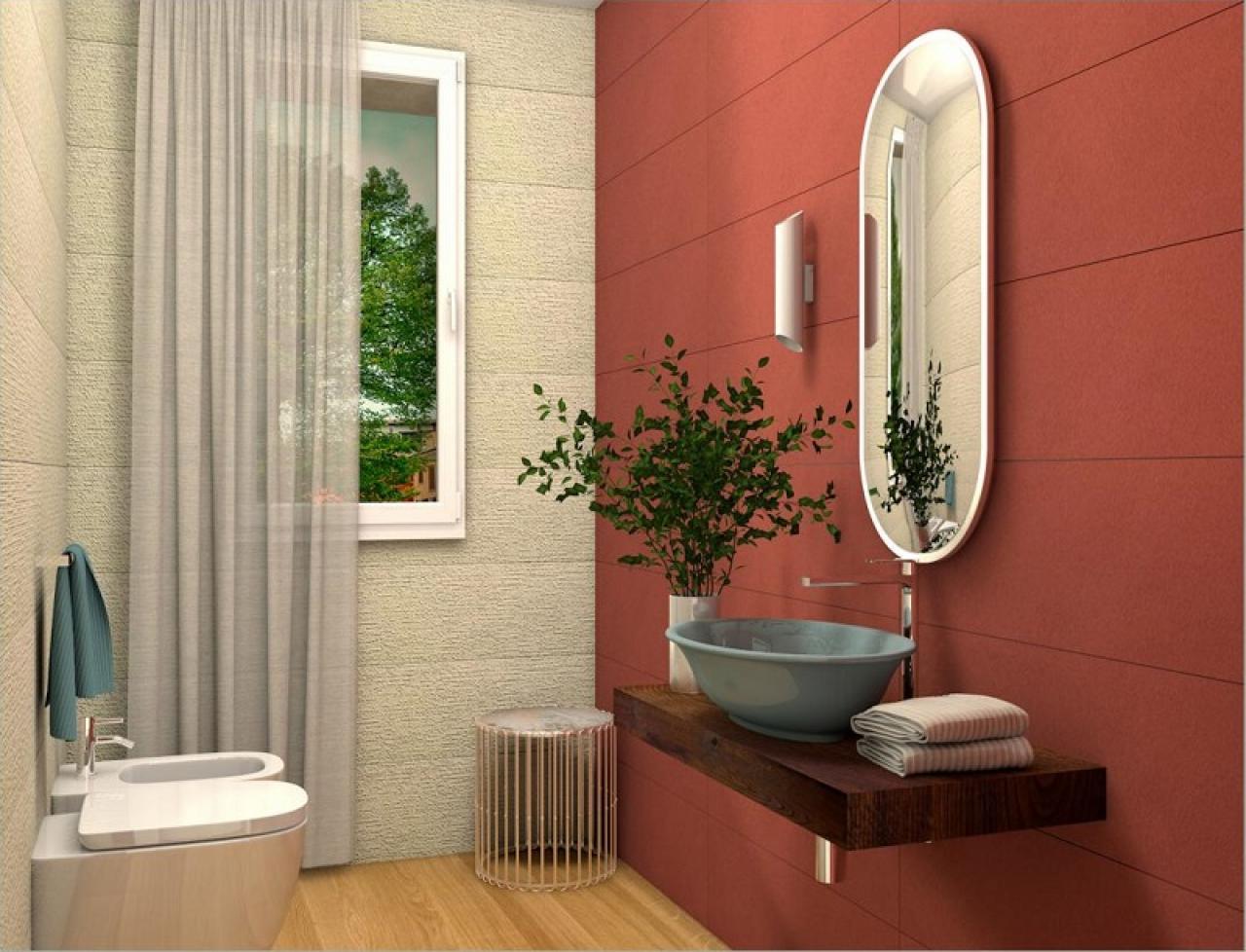bagno ospiti idee arredo piastrelle bagni negozio Vicenza provincia Verona