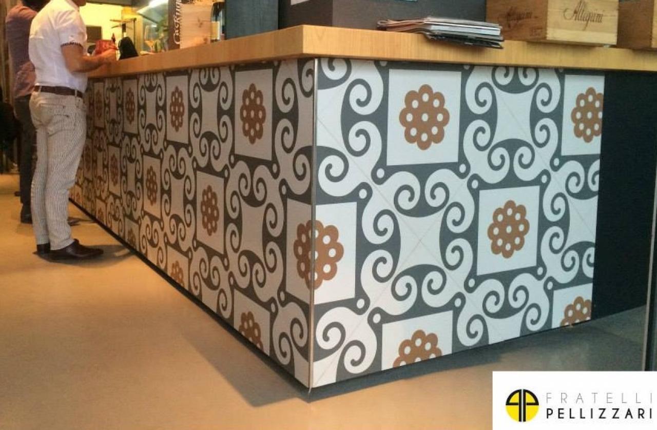 Bancone del bar in piastrelle: come realizzarlo? fratelli pellizzari