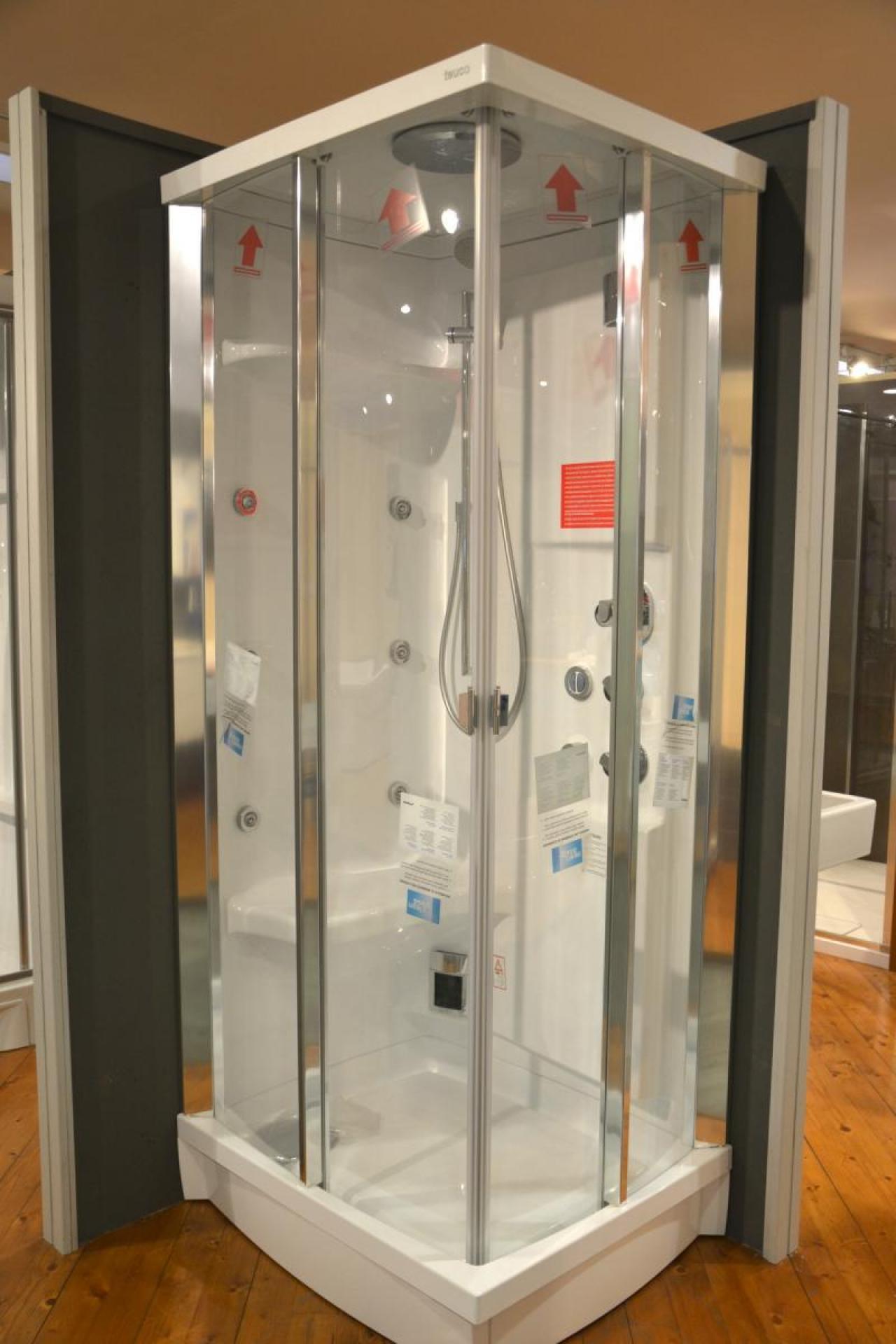 Cabina doccia multifunzione 90x75 prezzo outlet - Cabina doccia teuco prezzi ...