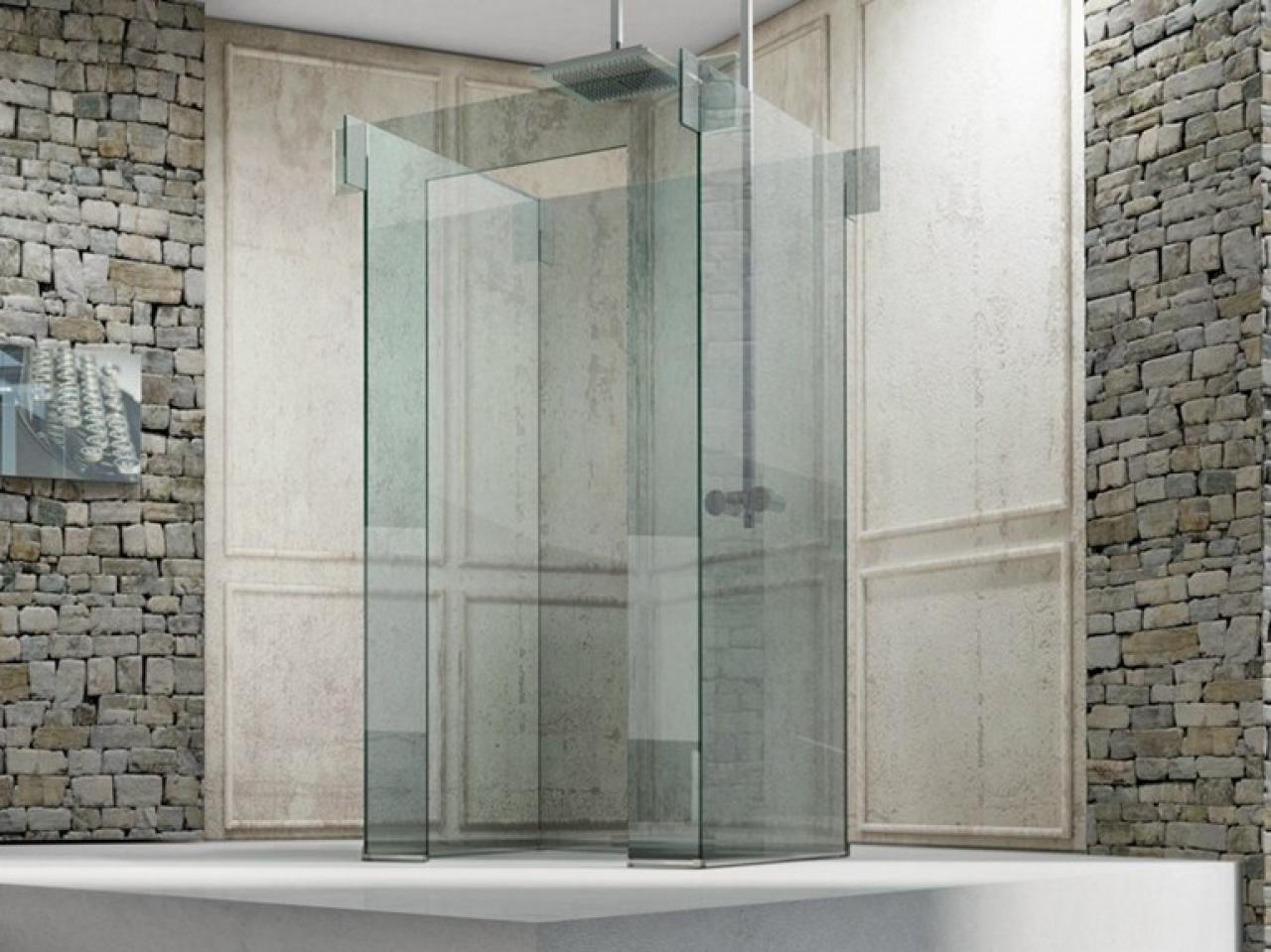 Il vetro nel bagno: mobili box doccia accessori fratelli pellizzari