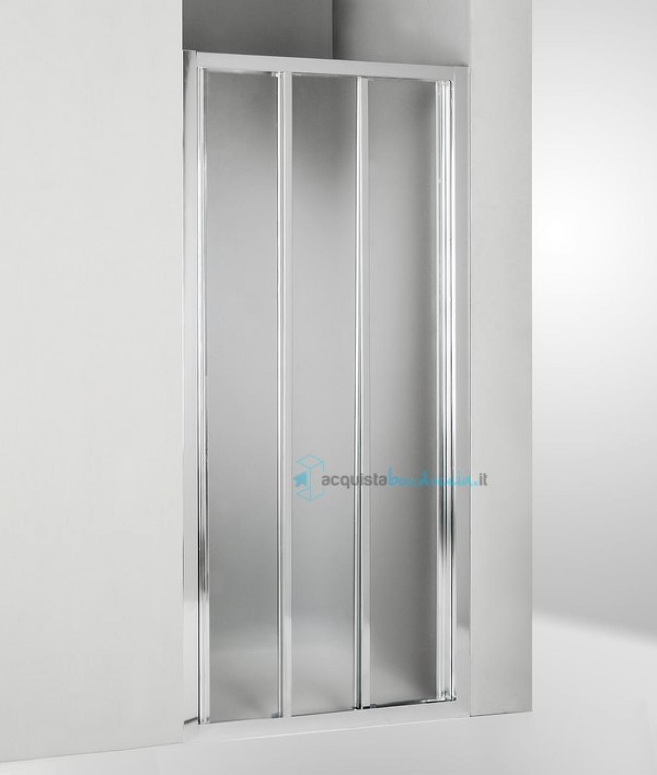 Porta per box doccia nicchia - prezzo outlet Vicenza   Fratelli ...