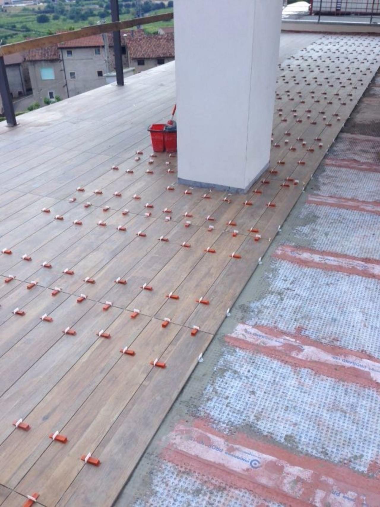 Impermeabilizzazione terrazzo con prodeso. | Fratelli Pellizzari