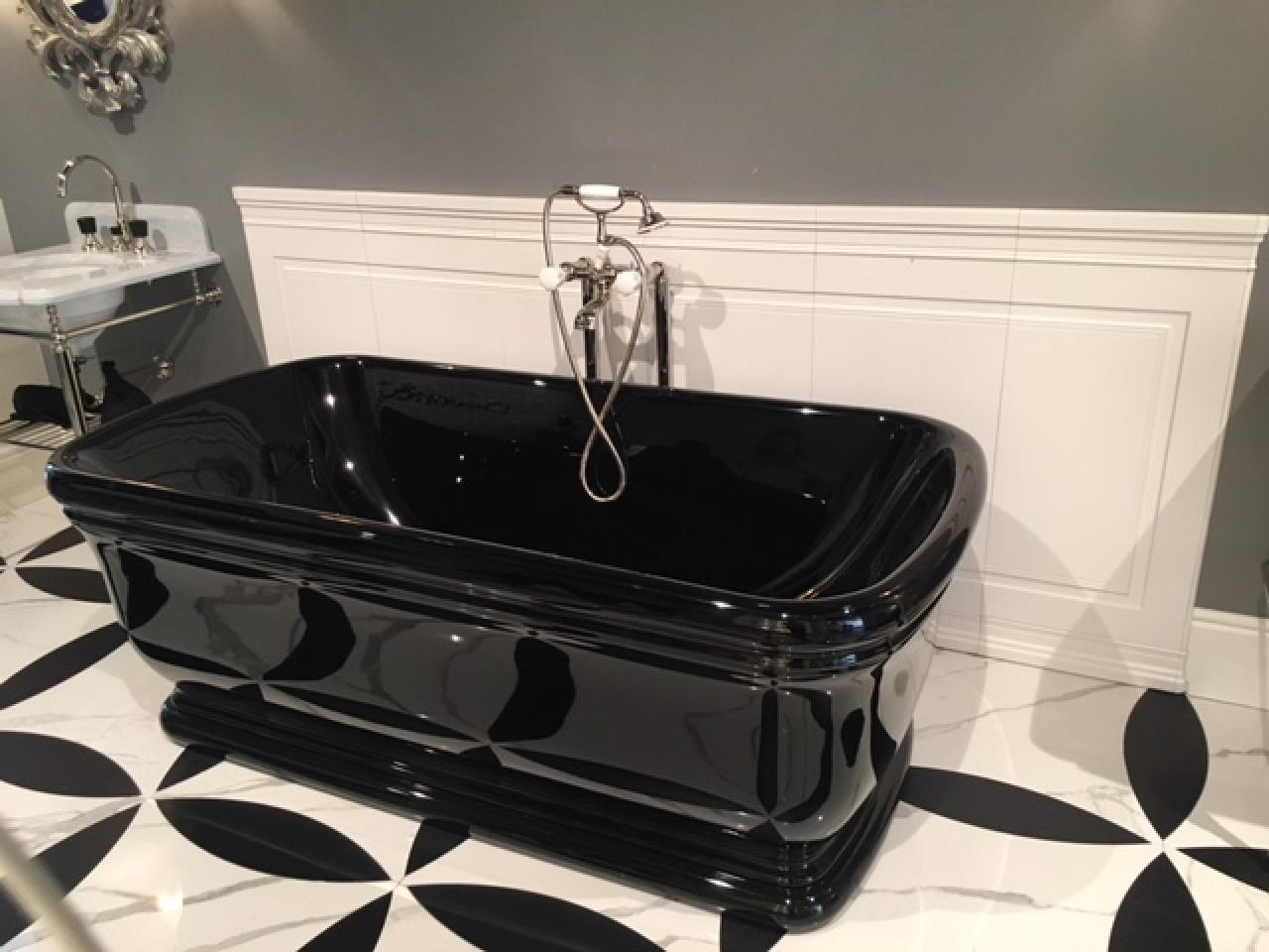 Vasche Da Bagno In Francese : Boiserie in ceramica nel bagno moderno fratelli pellizzari