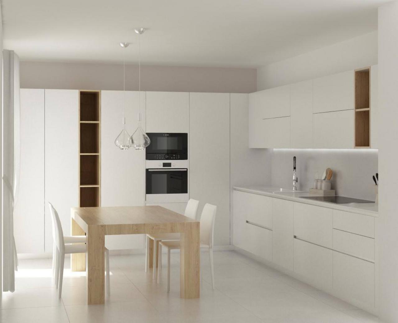 Cucina Moderna Bianca. Good Cucina Bianca Moderna With Cucina ...