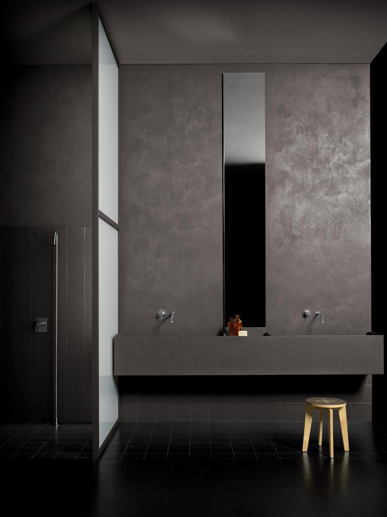 Resina kerakoll per pavimenti e rivestimenti vicenza - Pavimenti in resina bagno ...