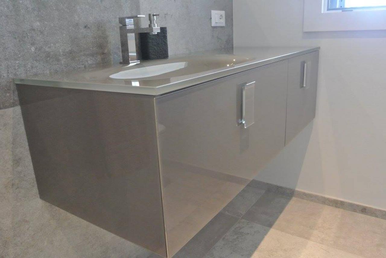 Mobile bagno vetro meglio di pro tare bagno ikea idee arredo bagno