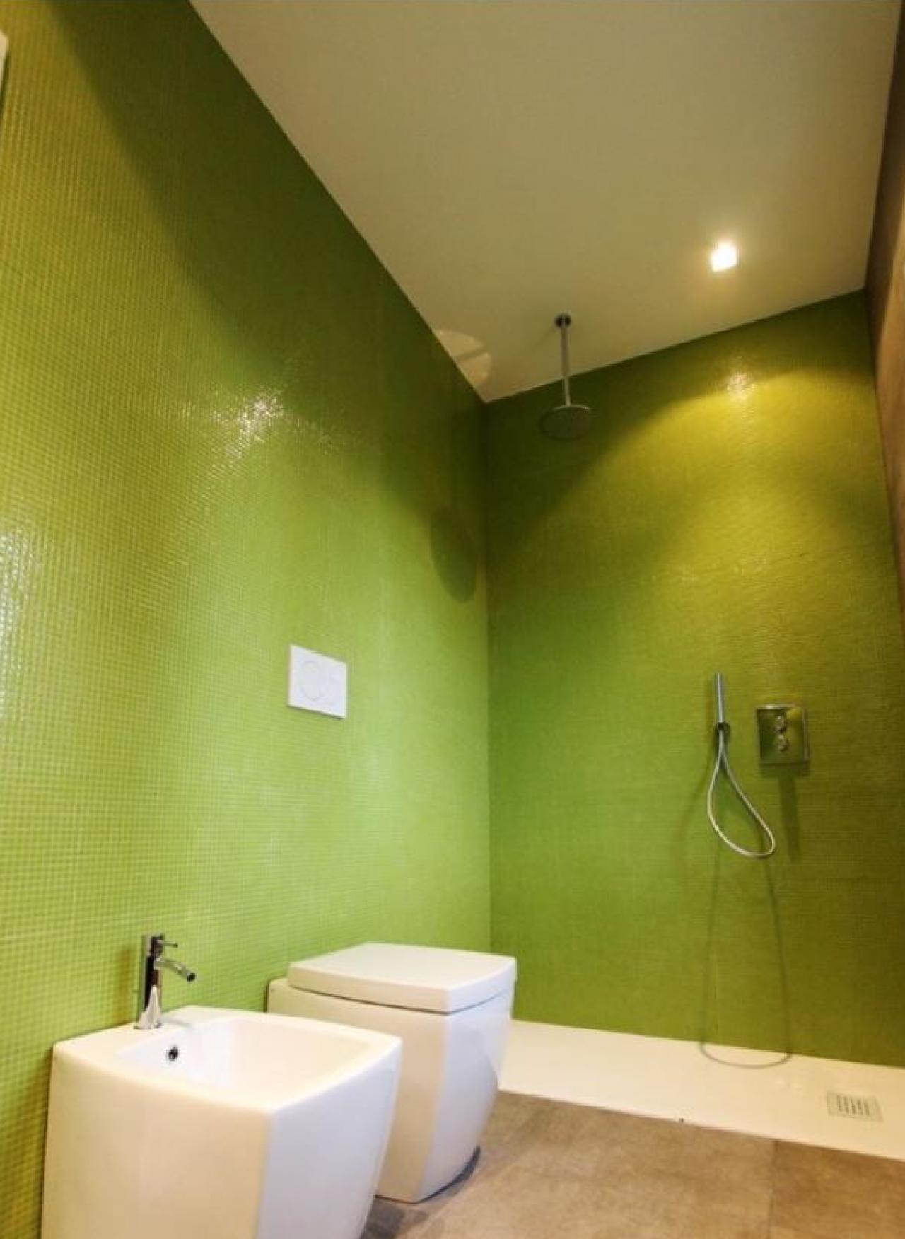 Il mosaico in vetro gres marmo di pellizzari fratelli pellizzari - Bagno mosaico verde ...
