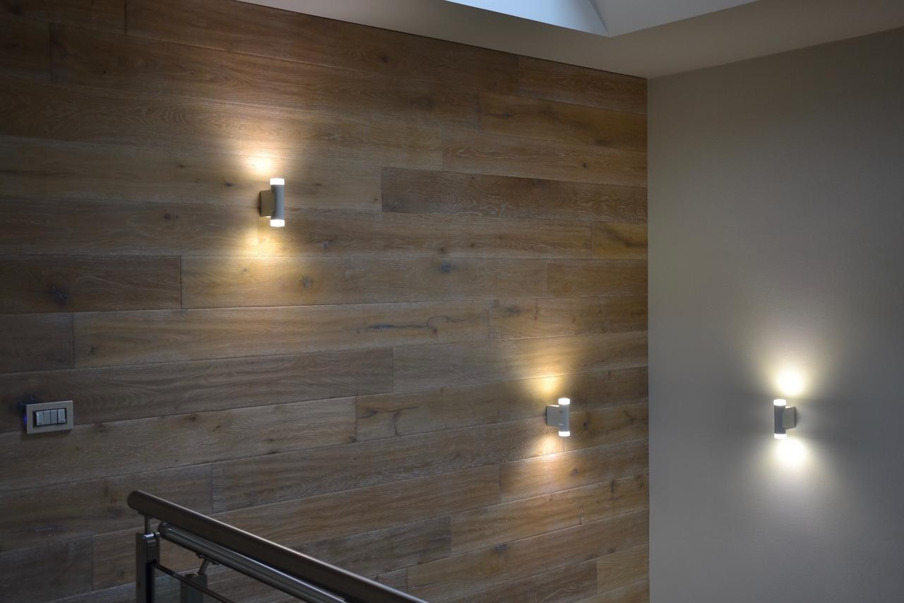 Pareti Rivestite Di Legno : Moderni uffici gres legno e ardesia fratelli pellizzari