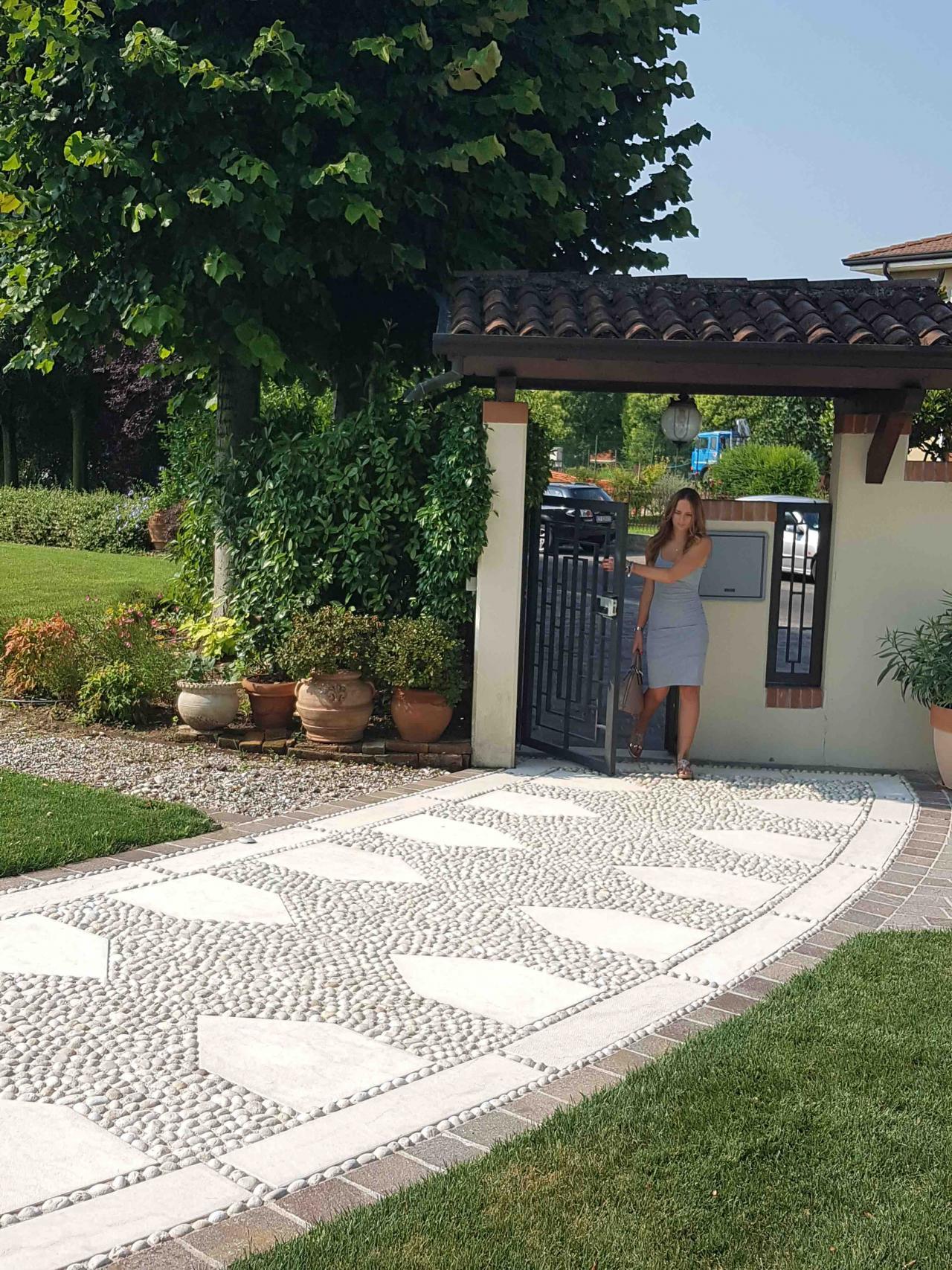 Pavimentazione Giardino In Pietra pavimentazione esterna a san bonifacio - verona | fratelli
