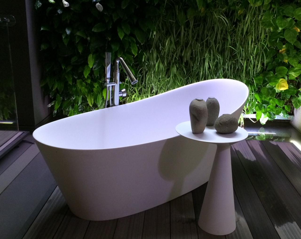 Vasca Da Bagno Freestanding Corian : La vasca da bagno a vicenza fratelli pellizzari