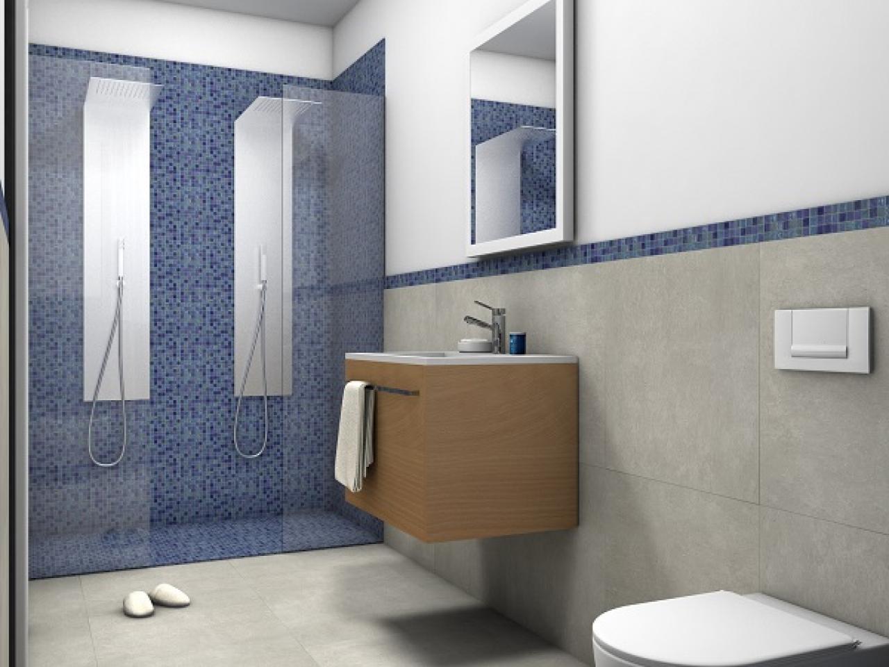 Bagno blu e bianco perfect idee per arredare un bagno blu e bianco n with bagno blu e bianco - Bagno blu e bianco ...