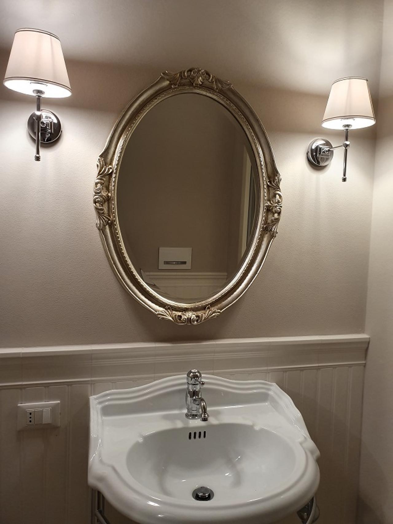 Bagno Romantico In Due boiserie in ceramica nel bagno moderno | fratelli pellizzari