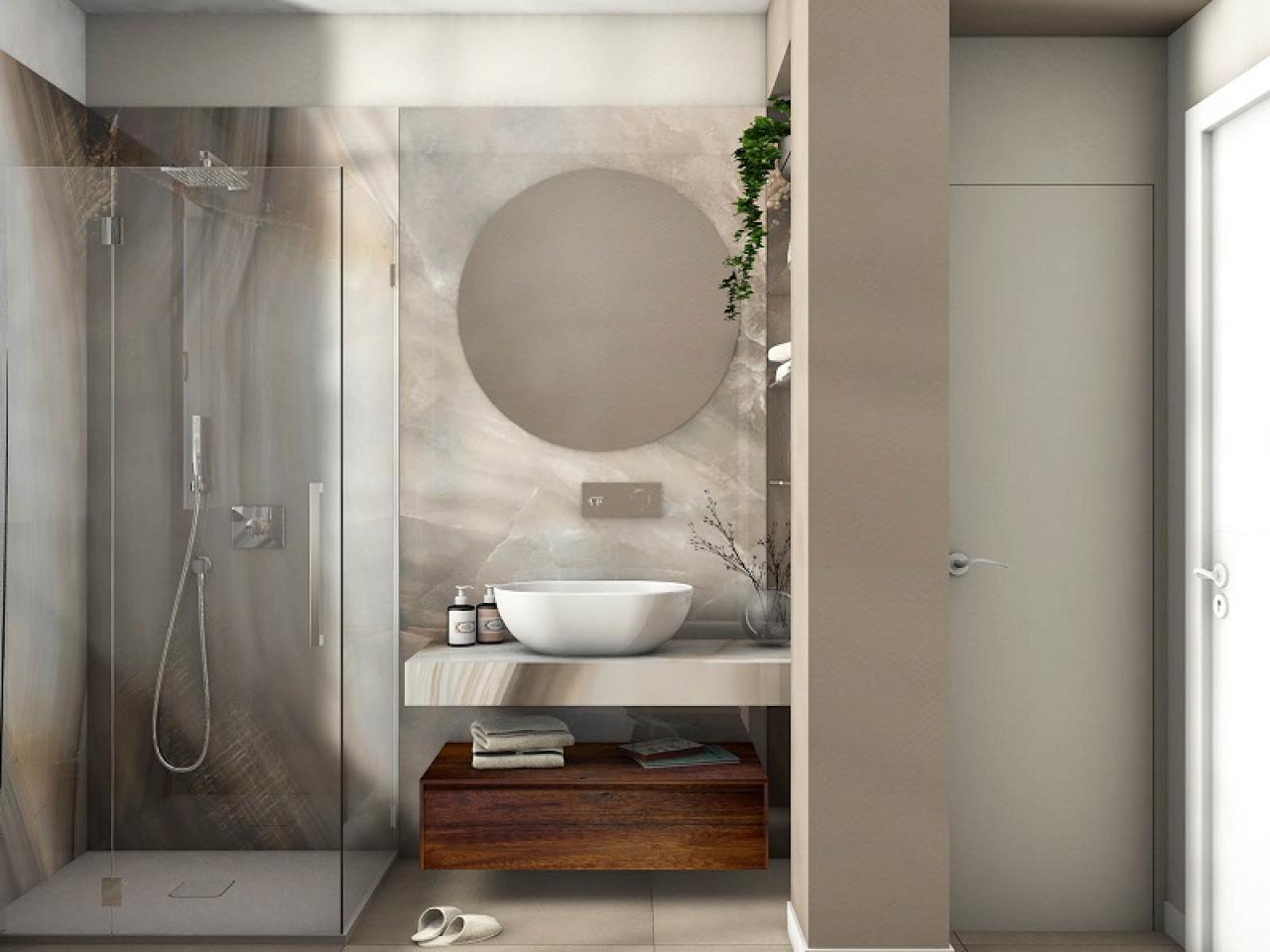 Progetti di bagni moderni lo stile di annalisa fratelli pellizzari