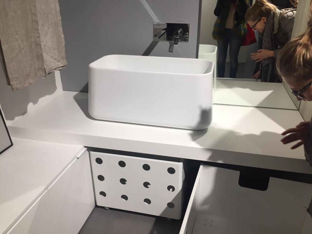 Bagno lavanderia moderno fratelli pellizzari