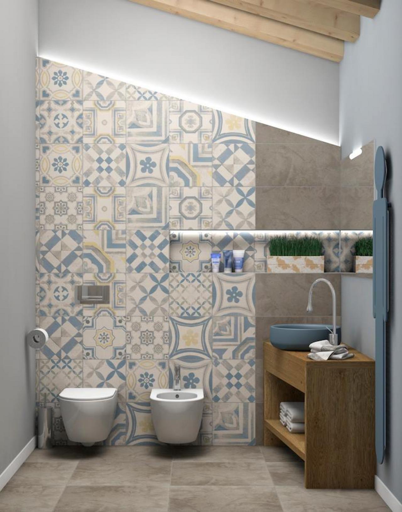 Foto Bagni Moderni Colorati.Progetti Di Bagni Portfolio Di Guido Fratelli Pellizzari