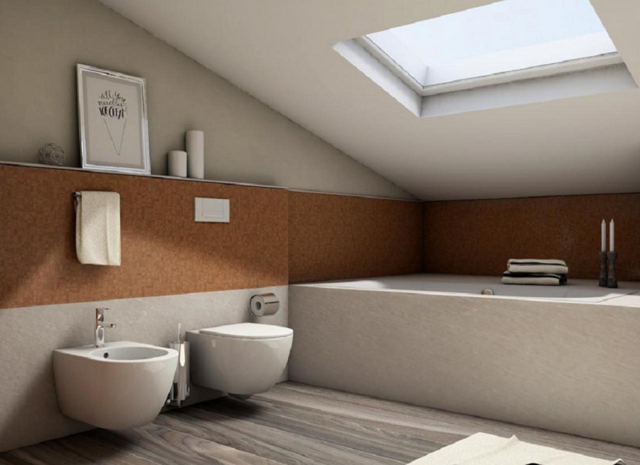Da Luce Alla Soffitta bagno mansarda progettato e realizzato a vicenza | fratelli