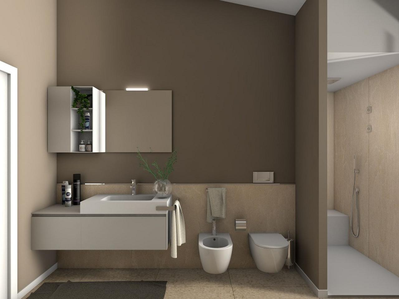 Progetti bagno lo stile di roberto fratelli pellizzari - Progetti per bagno ...