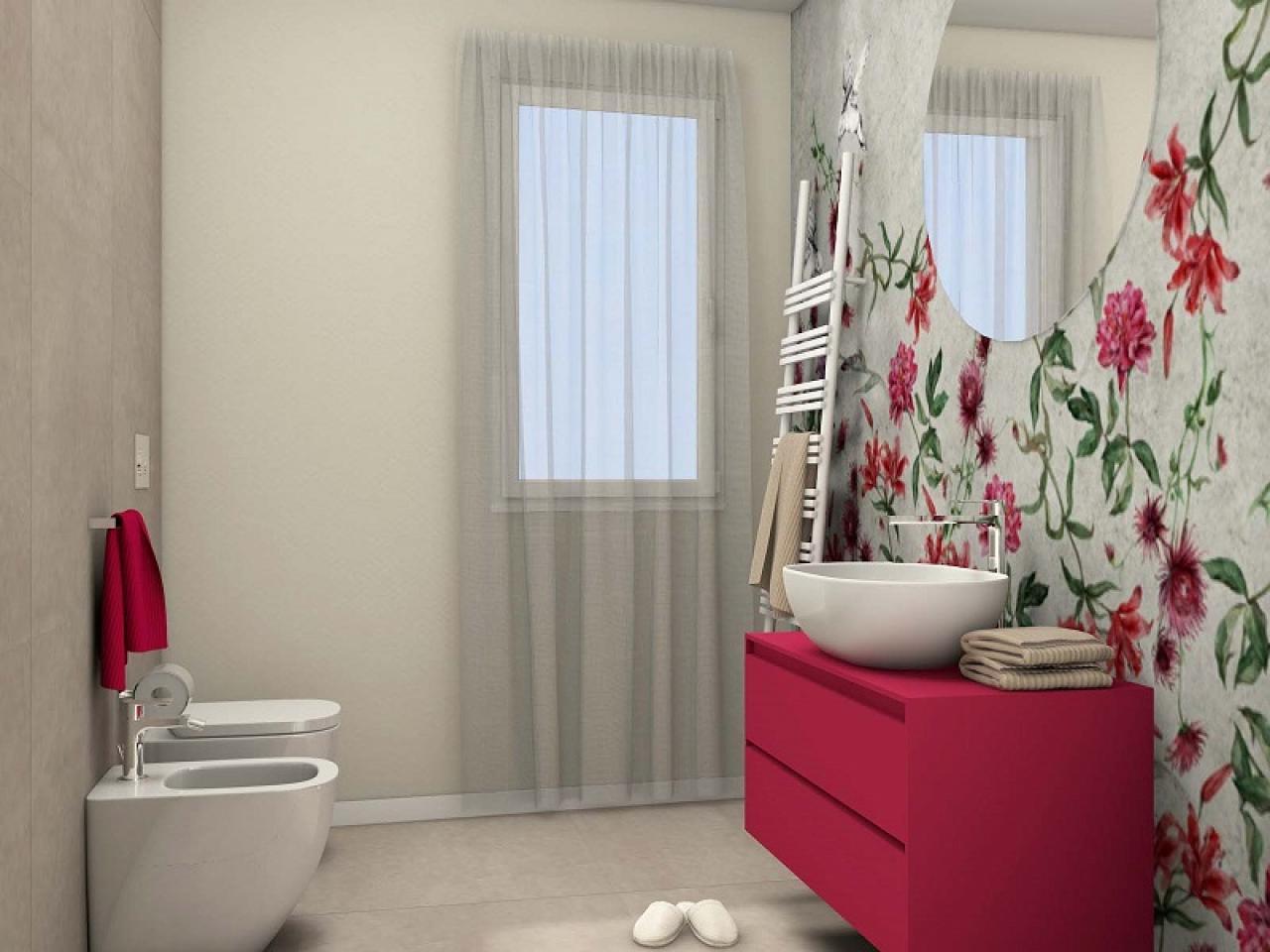 Foto Bagni Moderni Colorati.Bagni Moderni Progetti Di Annalisa Fratelli Pellizzari
