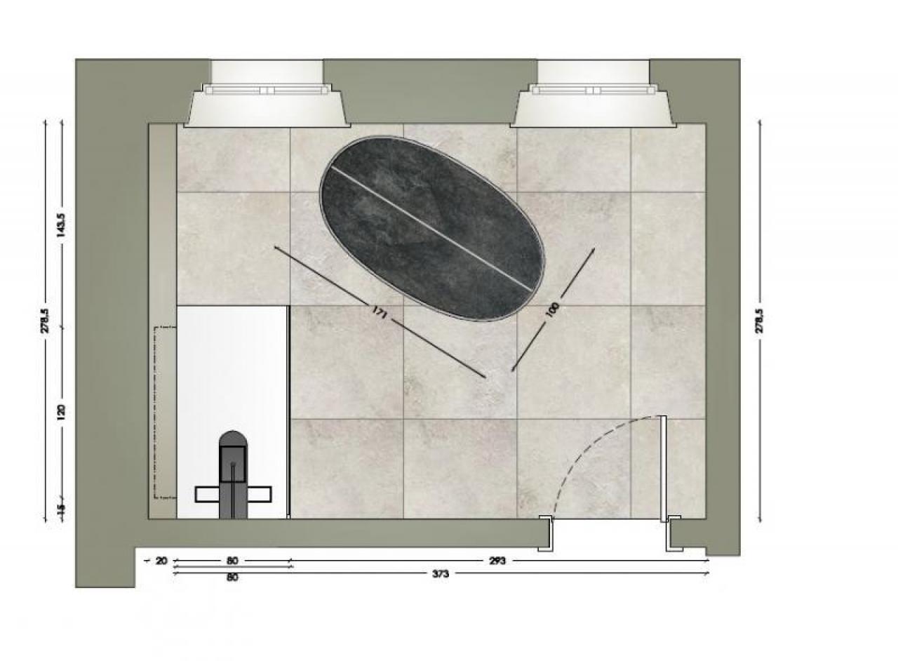 Ristrutturazione Bagno A Verona Mosaico E Grandi Lastre Fratelli