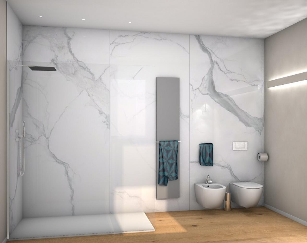 Piastrelle bagno effetto marmo latest bagno effetto marmo tivoli