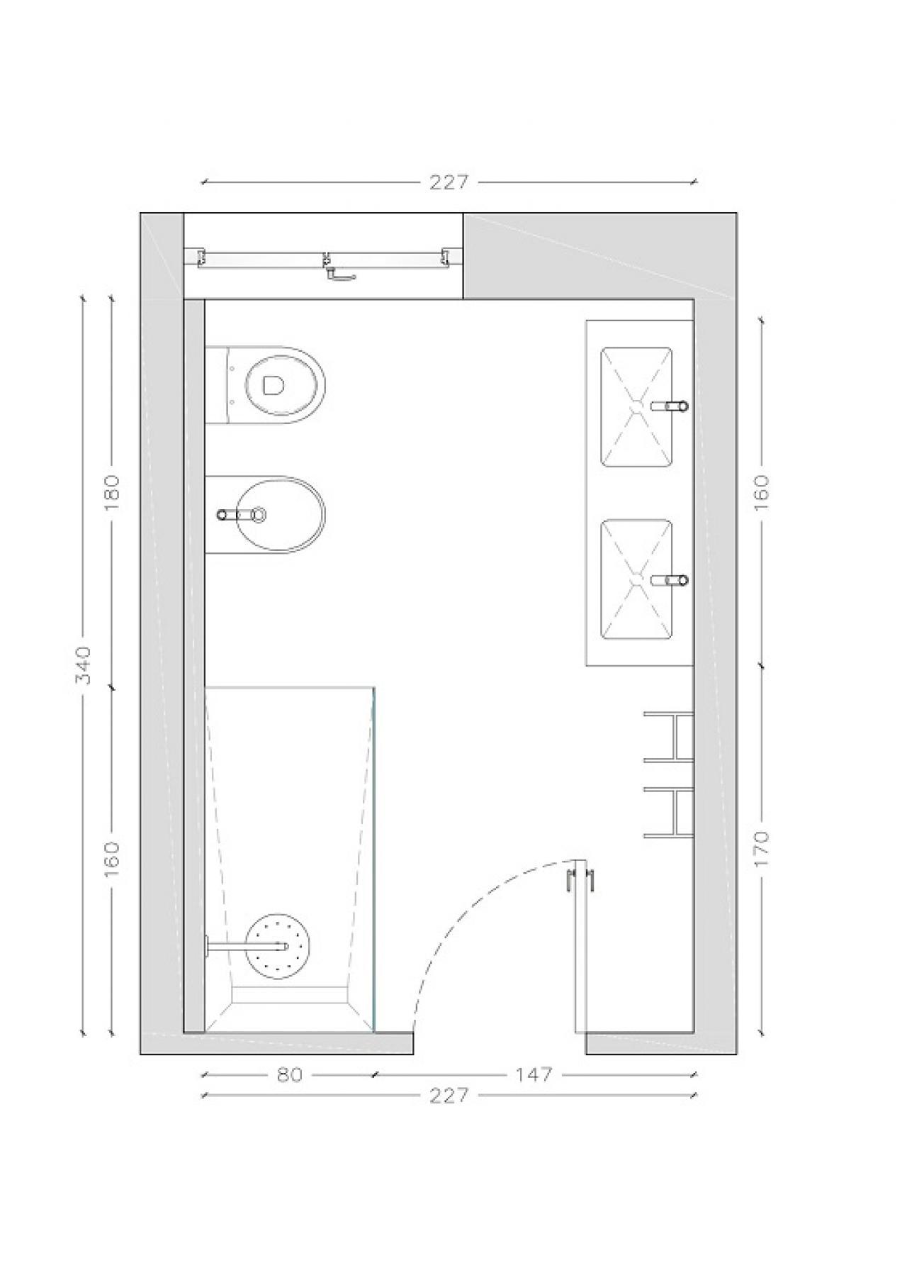 Progettare il bagno lo stile di giulia fratelli pellizzari - Progettare un bagno piccolo ...