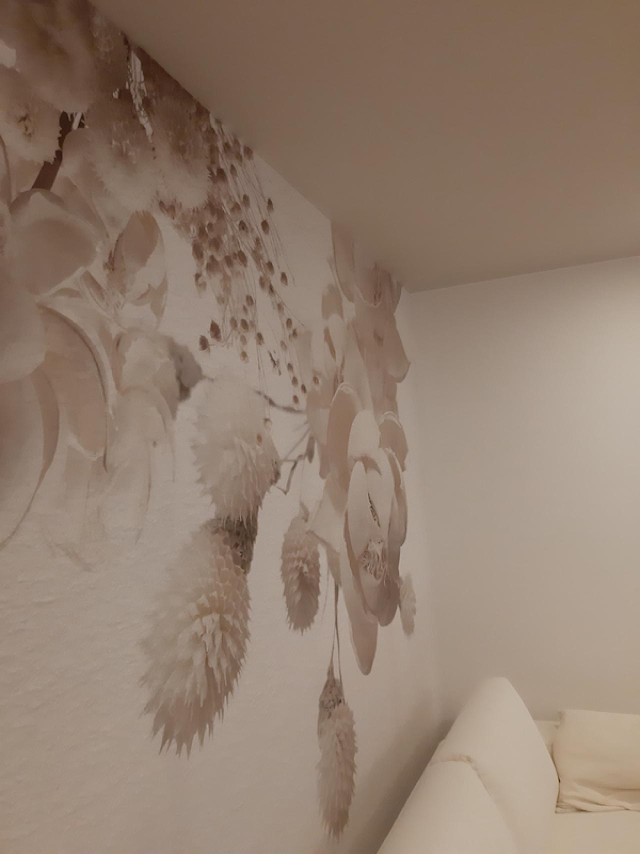 Carta da parati 3D, rimodernare un soggiorno a Vicenza ...