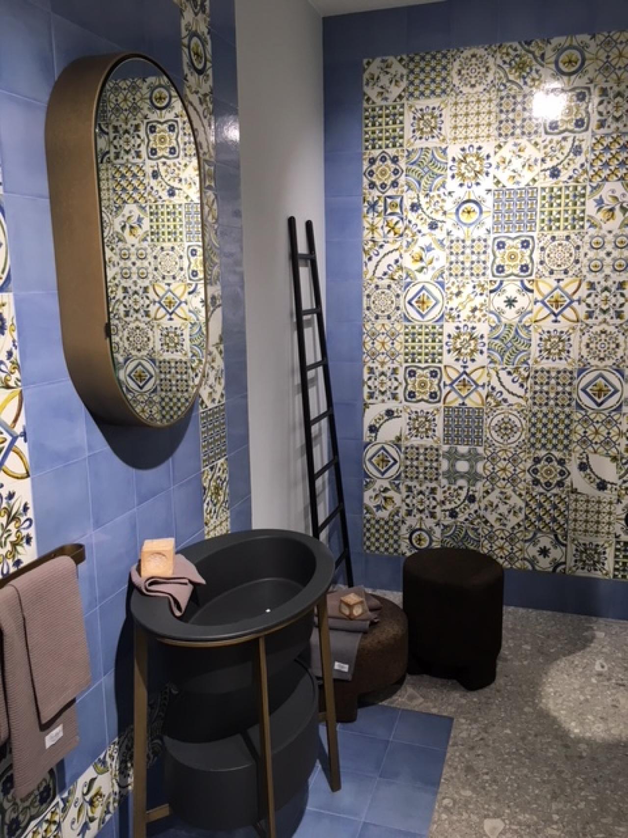Le cementine piastrelle decorate in gres porcellanato fratelli pellizzari - Piastrelle decorate per pavimenti ...
