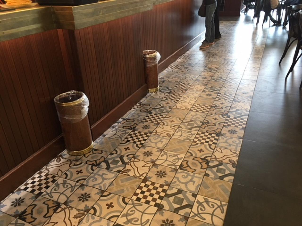 Le cementine: piastrelle decorate in gres porcellanato fratelli