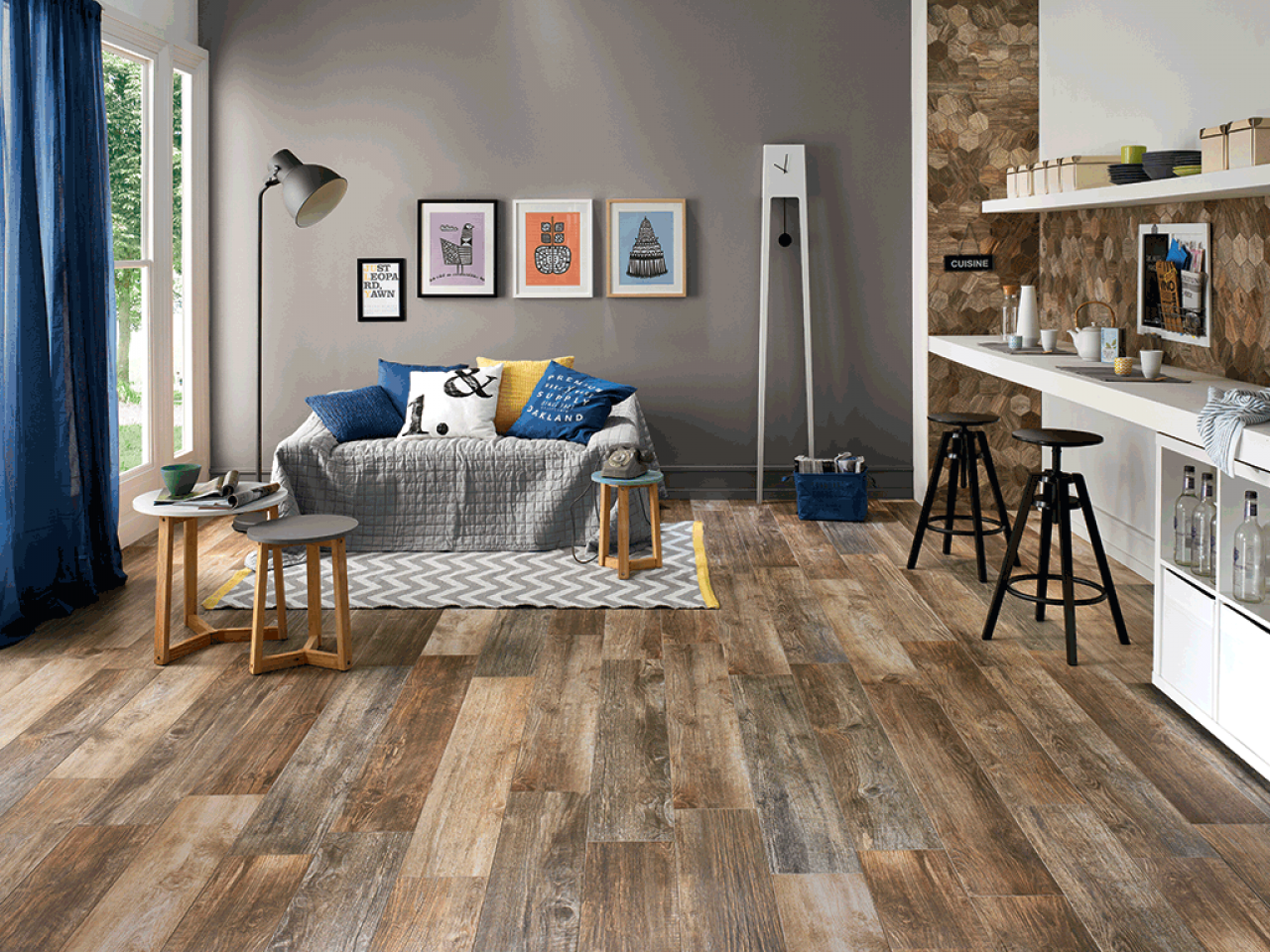 Mattonelle Simil Parquet Prezzi gres effetto legno - tutte le tipologie nel negozio di