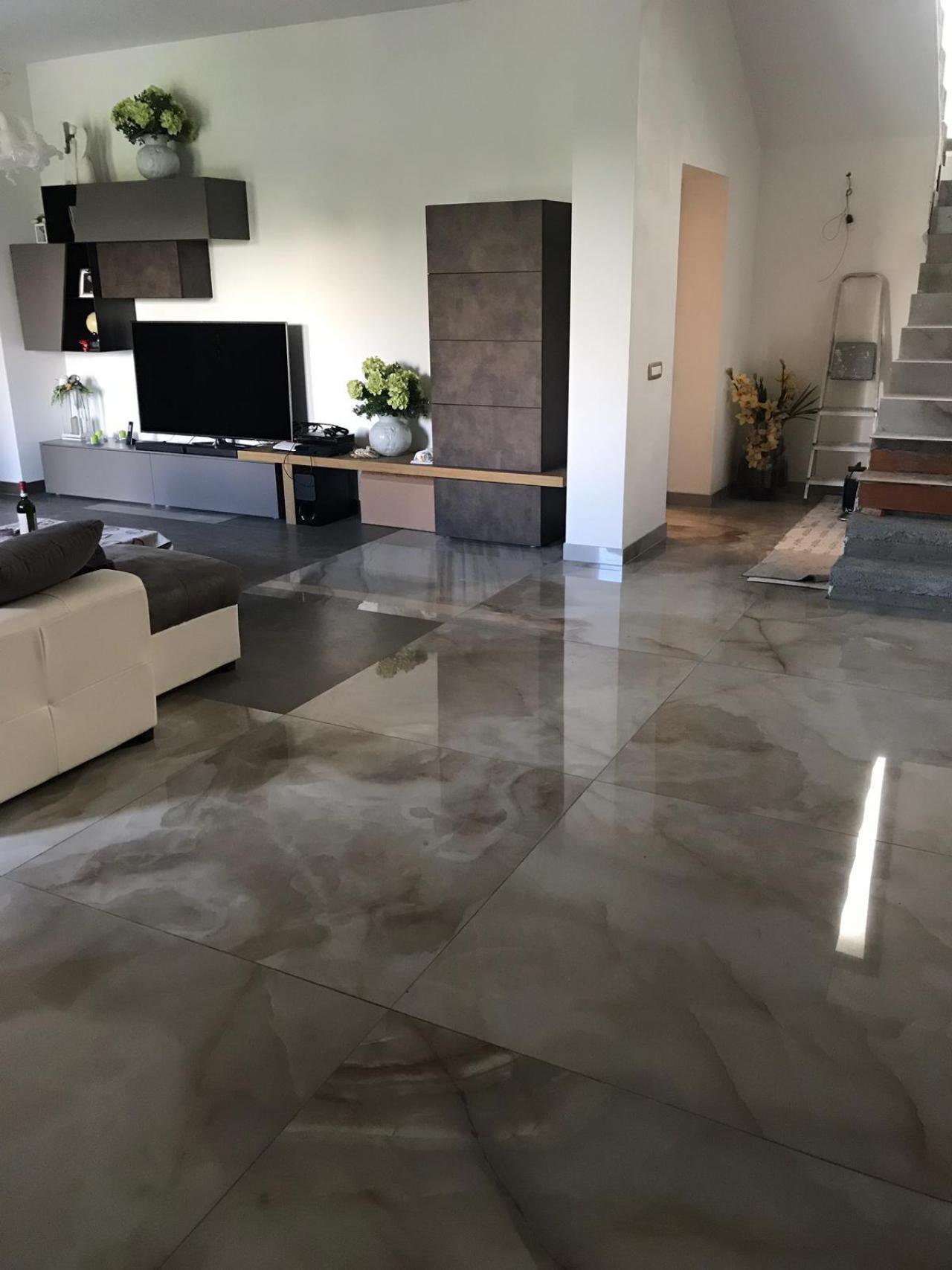 Pavimento Finto Marmo Lucido piastrelle effetto marmo a vicenza | fratelli pellizzari