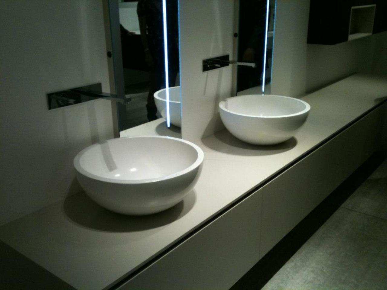 Lavabo da appoggio per il bagno fratelli pellizzari