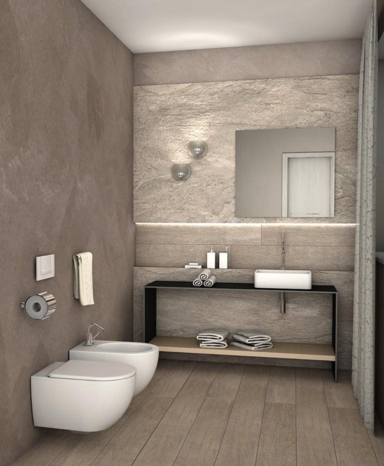 Stili bagno guida fotografica per scegliere arredi e rivestimenti fratelli pellizzari - Alternativa piastrelle bagno ...