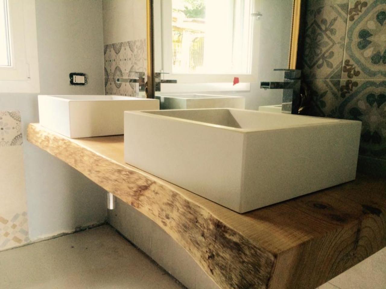 Il mobile per il bagno fratelli pellizzari for Mobile bagno legno