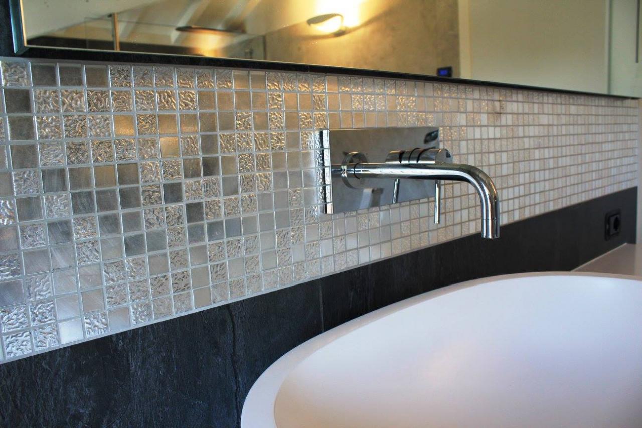 Bagni con mosaico bisazza mosaico ceramico in pasta vetrosa