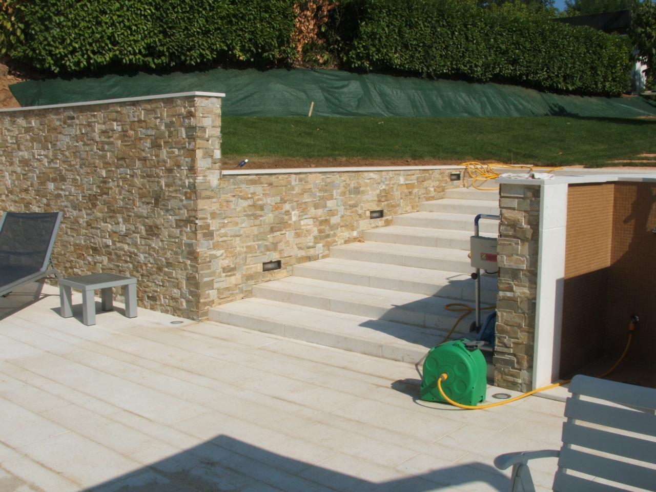 Piscina pavimenti e rivestimenti realizzazione a lonigo for Piscina arzignano