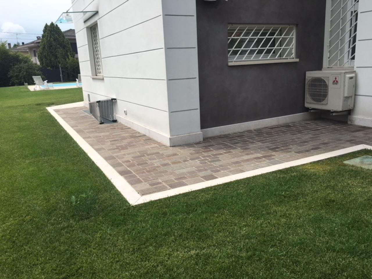 Colore Esterno Casa Moderna il pavimento in porfido per esterni: caratteristiche