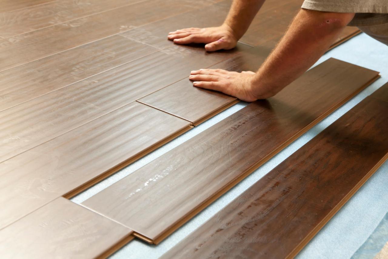 Posa del parquet flottante o incollata fratelli pellizzari - Pavimento in legno da interno ...