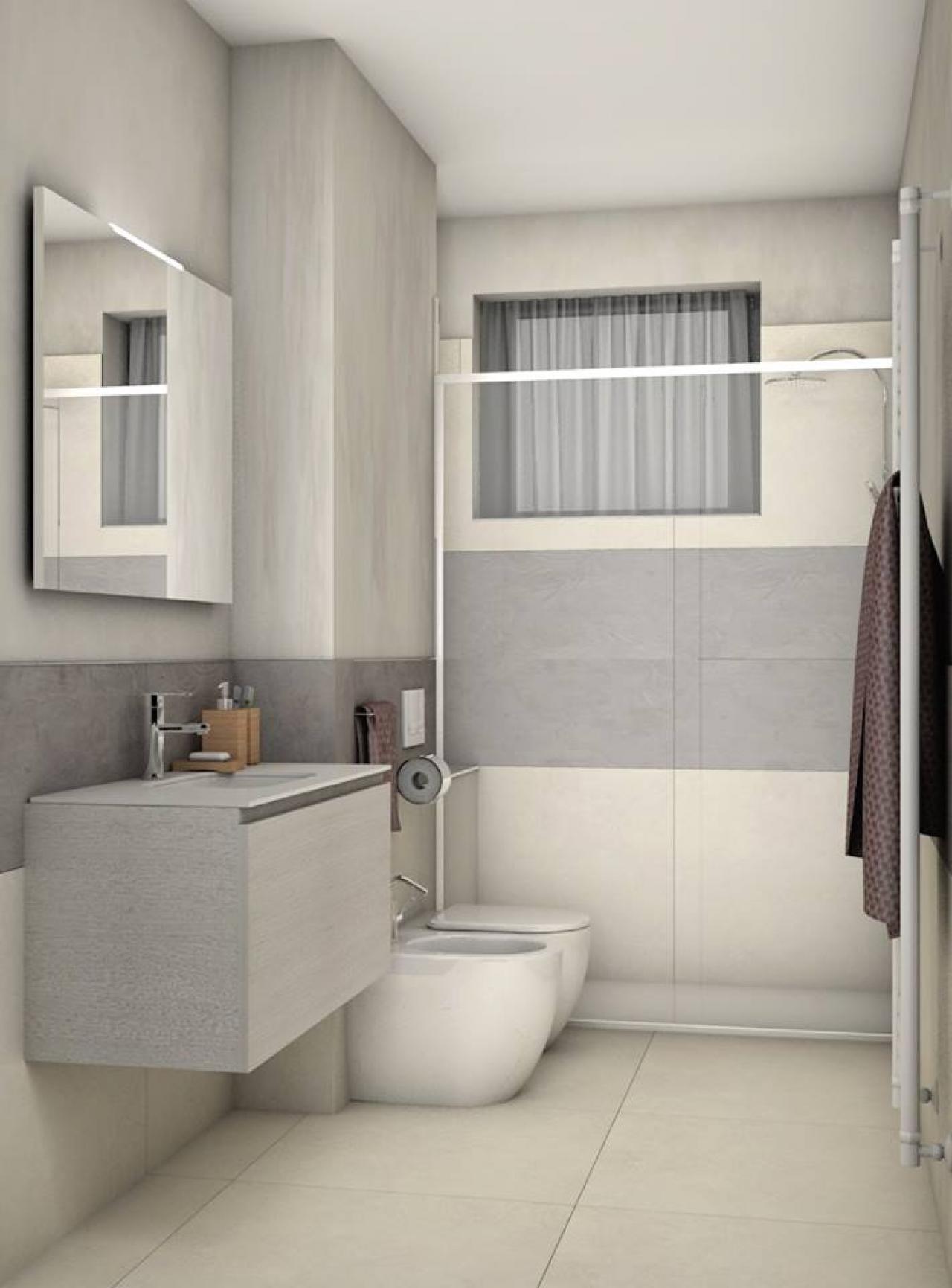 Immagini bagni moderni con doccia gallery of bagno moderno con doccia in mezzo al locale with - Bagno moderno con doccia ...