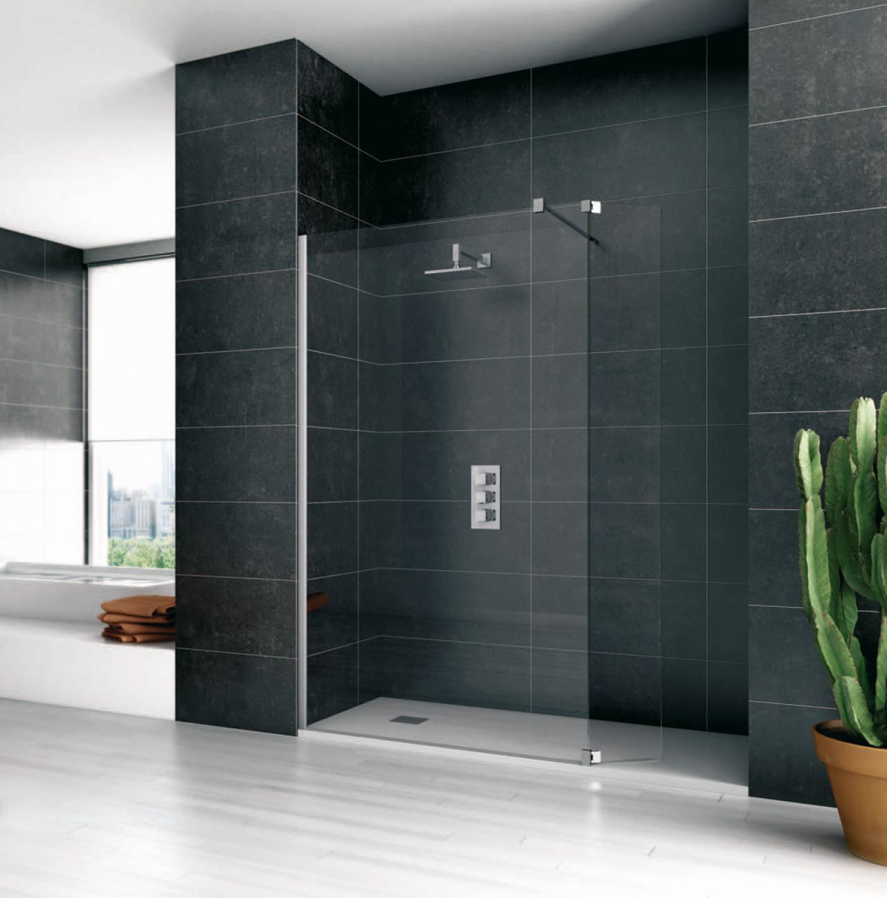 Il vetro nel bagno mobili box doccia accessori for Box doccia tda