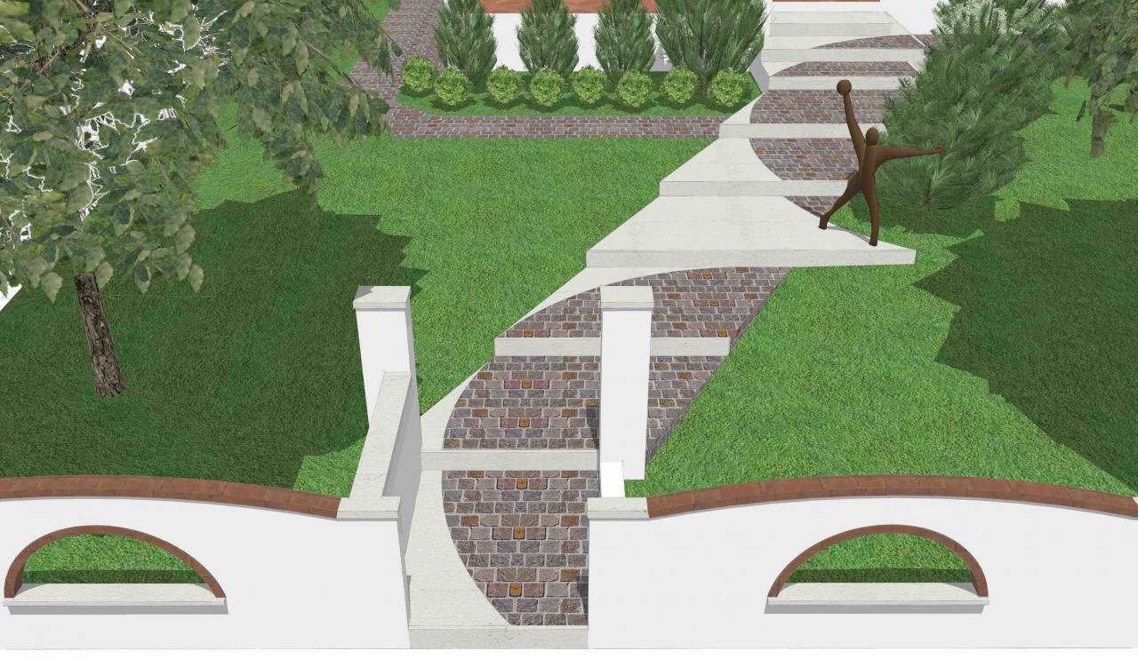 Ingresso Casa Esterno In Pietra la scala esterna di casa | fratelli pellizzari