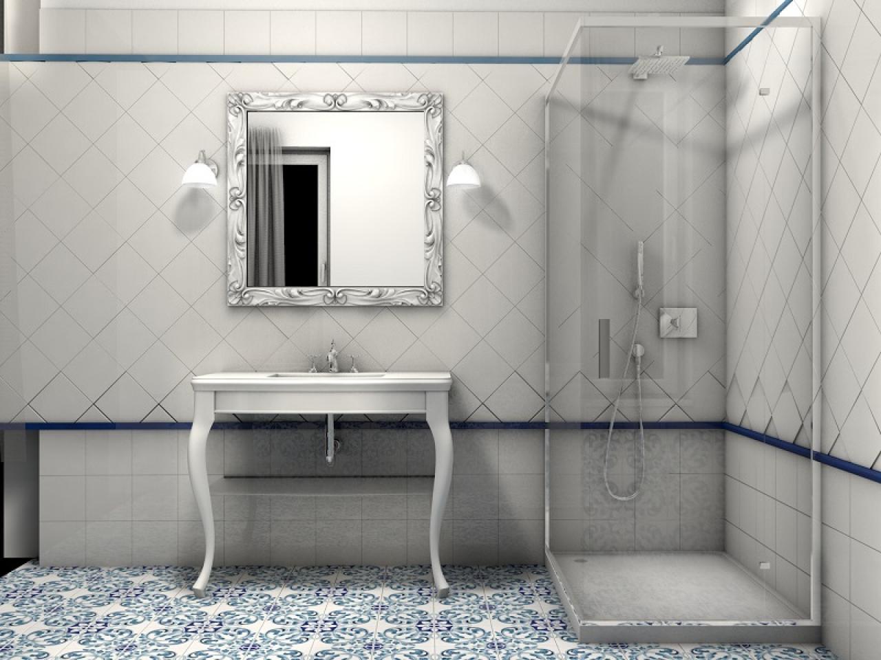 Vasca Da Bagno In Stile Inglese : Stili bagno: guida fotografica per scegliere arredi e rivestimenti
