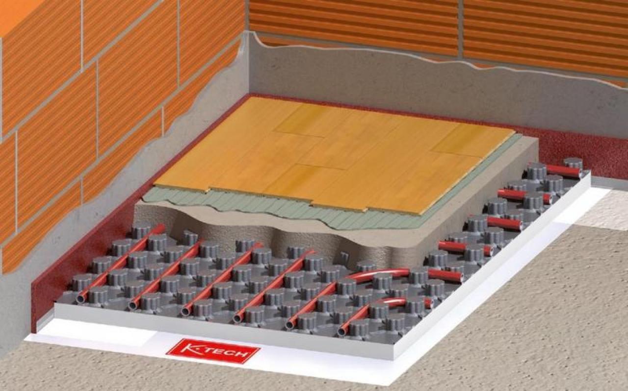 Riscaldamento A Pavimento Tubi riscaldamento a pavimento - installazione a vicenza e verona